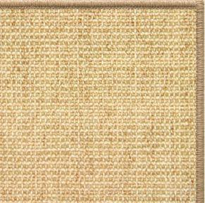 Sand Sisal Rug with Serged Border (Color 29315) - Free Shipping
