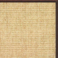 Sand Sisal Rug with Serged Border (Color 29338) - Free Shipping