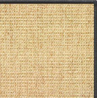 Sand Sisal Rug with Serged Border (Color 29750) - Free Shipping