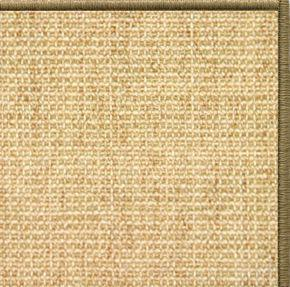 Sand Sisal Rug with Serged Border (Color 29950) - Free Shipping
