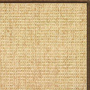 Area Rugs - Sustainable Lifestyles Sand Sisal Rug With Serged Border (Color 3295)