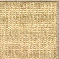 Sand Sisal Rug with Serged Border (Color 93) - Free Shipping