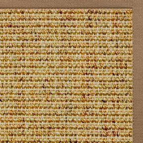 Spice Sisal Rug with Harvest Haze Cotton Border