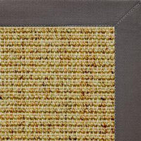 Spice Sisal Rug with Quarry Cotton Border - Free Shipping
