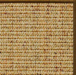 Spice Sisal Rug with Serged Border (Color 1048) - Free Shipping