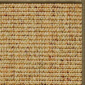 Spice Sisal Rug with Serged Border (Color 10639) - Free Shipping