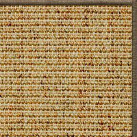Spice Sisal Rug with Serged Border (Color 29024) - Free Shipping