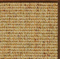 Spice Sisal Rug with Serged Border (Color 29275) - Free Shipping