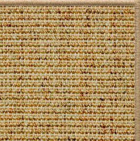 Spice Sisal Rug with Serged Border (Color 29315) - Free Shipping