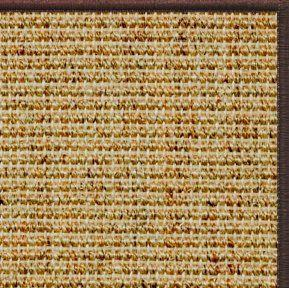 Spice Sisal Rug with Serged Border (Color 29338) - Free Shipping