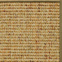 Spice Sisal Rug with Serged Border (Color 29950) - Free Shipping
