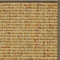Spice Sisal Rug with Serged Border (Color 29979)