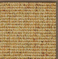 Spice Sisal Rug with Serged Border (Color 518) - Free Shipping