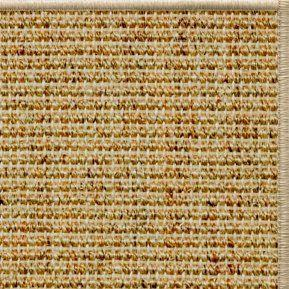 Spice Sisal Rug with Serged Border (Color 93) - Free Shipping