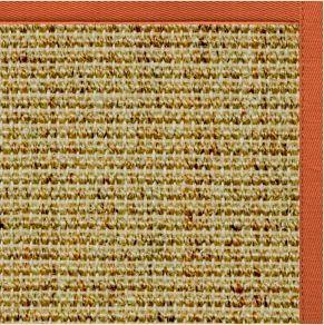 Spice Sisal Rug with Spice Cotton Border