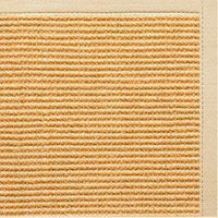 Tan Sisal Rug with Magnolia Cotton Border - Free Shipping