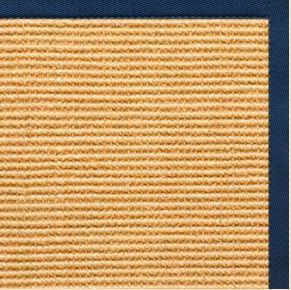 Tan Sisal Rug with Marina Cotton Border