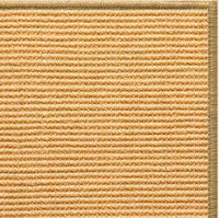 Tan Sisal Rug with Serged Border (Color 200) - Free Shipping