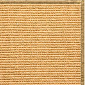Tan Sisal Rug with Serged Border (Color 200)