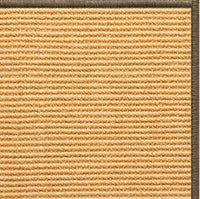 Tan Sisal Rug with Serged Border (Color 29024) - Free Shipping