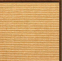 Tan Sisal Rug with Serged Border (Color 29275) - Free Shipping