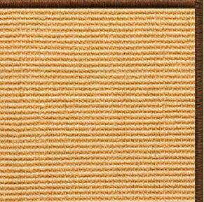 Tan Sisal Rug with Serged Border (Color 29275)