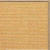 Tan Sisal Rug with Serged Border (Color 29315) - Free Shipping