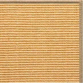 Tan Sisal Rug with Serged Border (Color 29315)