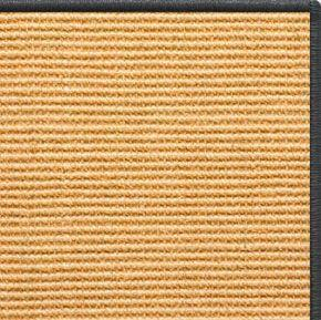 Tan Sisal Rug with Serged Border (Color 29750)