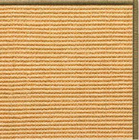 Tan Sisal Rug with Serged Border (Color 29950) - Free Shipping
