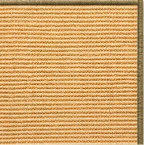 Tan Sisal Rug with Serged Border (Color 29950)