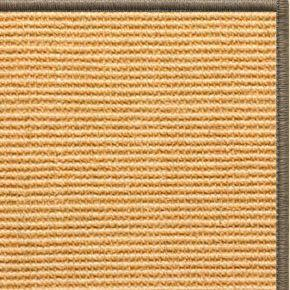 Tan Sisal Rug with Serged Border (Color 29979)