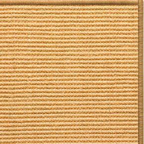 Tan Sisal Rug with Serged Border (Color 29989)