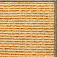 Tan Sisal Rug with Serged Border (Color 30008) - Free Shipping