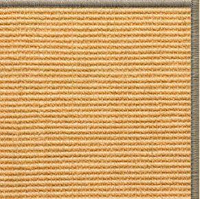 Tan Sisal Rug with Serged Border (Color 30008)