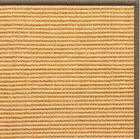 Tan Sisal Rug with Serged Border (Color 518) - Free Shipping