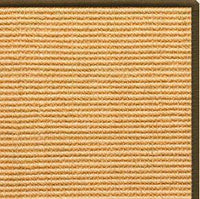 Tan Sisal Rug with Serged Border (Color 522) - Free Shipping