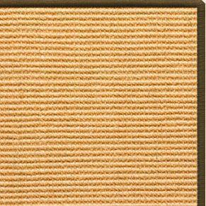 Tan Sisal Rug with Serged Border (Color 522)