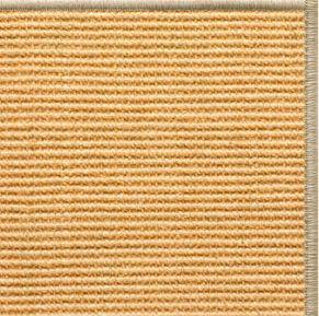 Tan Sisal Rug with Serged Border (Color 93)