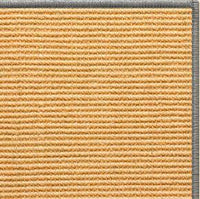Tan Sisal Rug with Serged Border (Color 989) - Free Shipping
