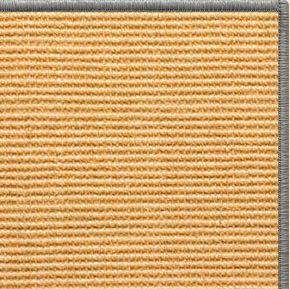 Tan Sisal Rug with Serged Border (Color 989)