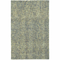 Finley Blue Green Solid  Casual Rug - Free Shipping
