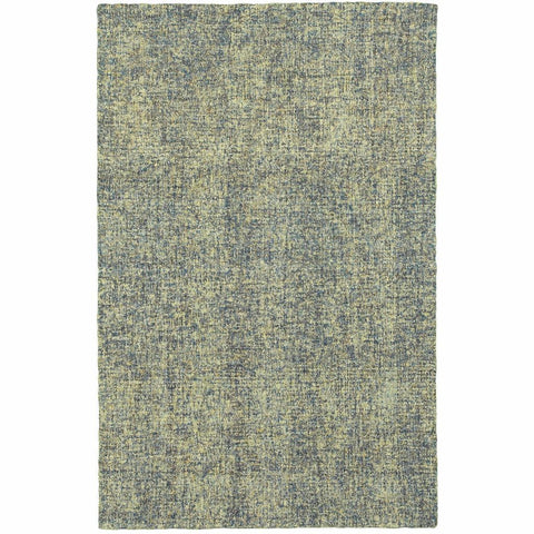 Oriental Weavers Finley Blue Green Solid  Casual Rug