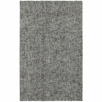 Finley Blue Grey Solid  Casual Rug - Free Shipping