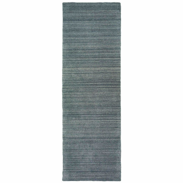 Casual Rug - Infused Charcoal Charcoal Solid Distressed Casual Rug