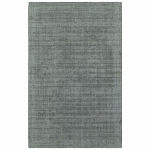 Oriental Weavers Mira Green Green Solid Distressed Casual Rug