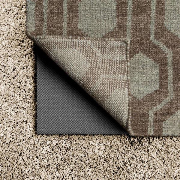 LuxeHold Grey  N/A  Rug Pad Rug - Free Shipping