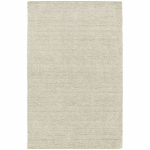 Aniston Beige  Solid  Transitional Rug - Free Shipping