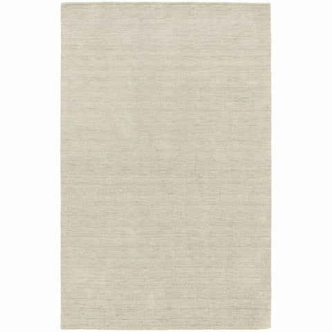Aniston Beige  Solid  Transitional Rug