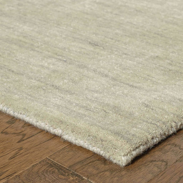 Tufted - Aniston Beige  Solid  Transitional Rug
